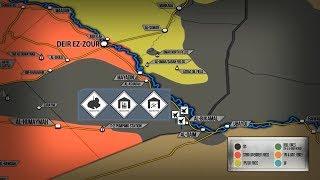 2 ноября 2017. Военная обстановка в Сирии. Авиаудары ВКС РФ по ИГИЛ и Израиля по Сирии.