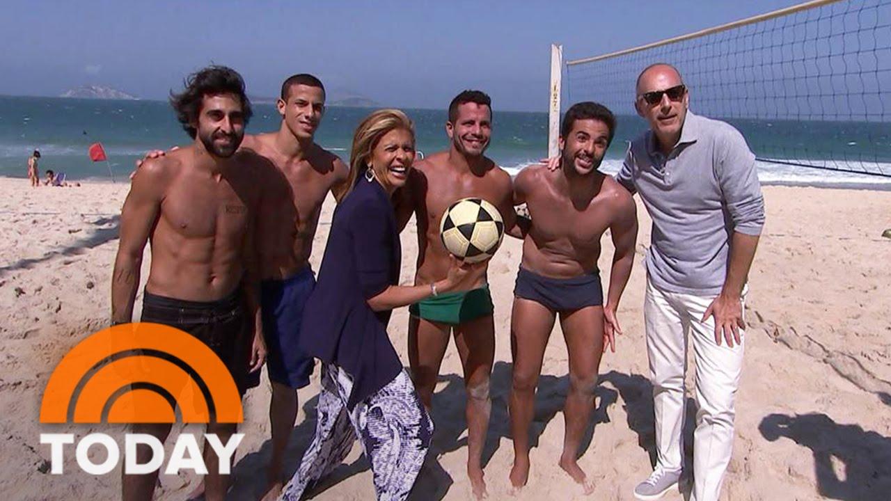 Matt Lauer Rio >> Join Matt Lauer And Hoda Kotb On Rio S Famous Beaches Today Youtube