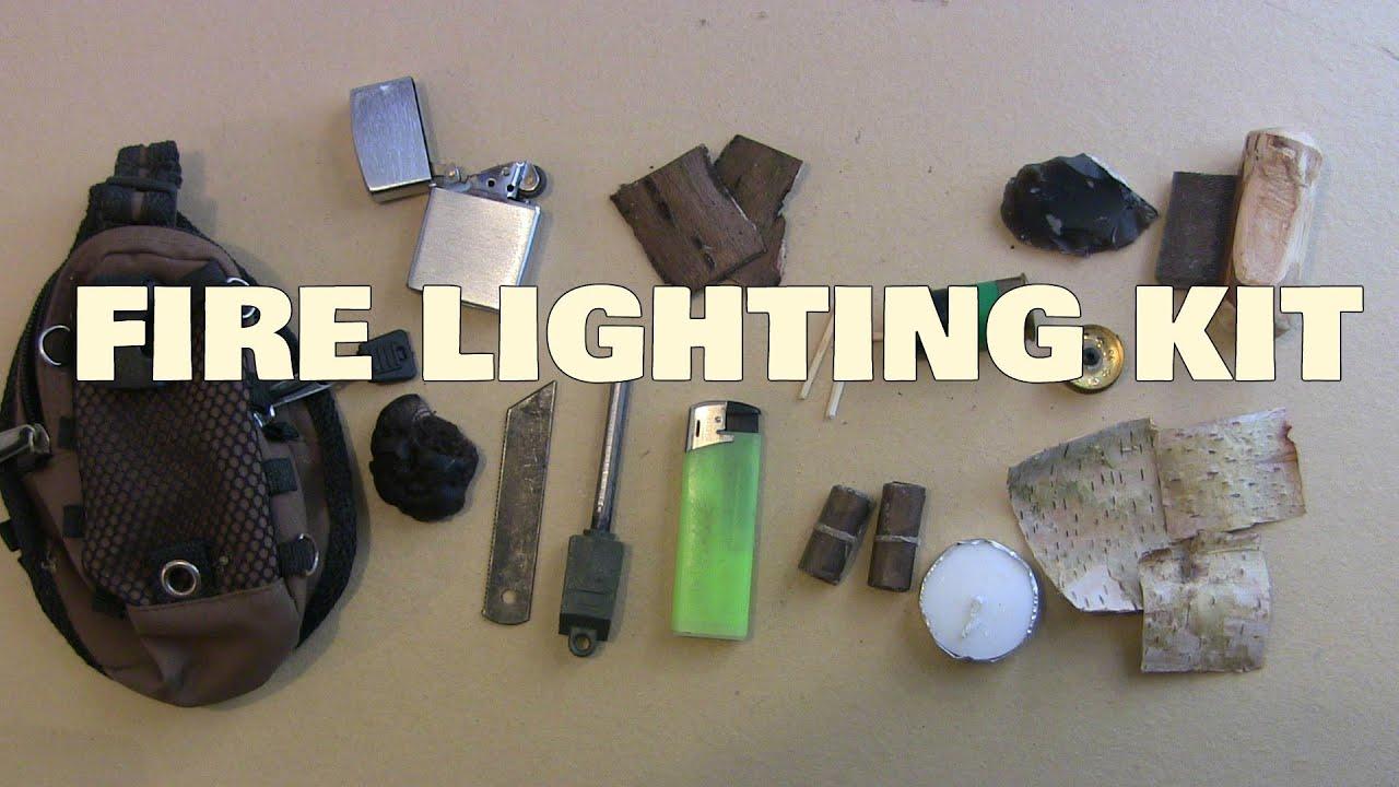 Bushcraft Fire Lighting Kit