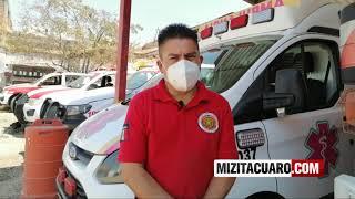 Así va la recaudación para traer un vehículo de bomberos de EE.UU a Zitácuaro