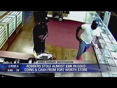 VIDEO: Men Get Away With Thousands From Fort Worth Coin Store