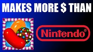 Candy Crush Makes More Money Than Nintendo!