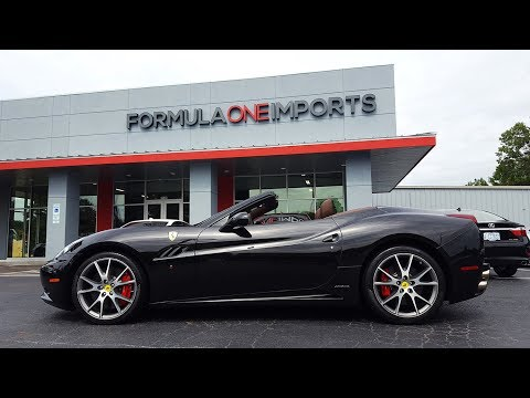 2010 Ferrari California Convertible - For Sale - Formula One Imports Charlotte