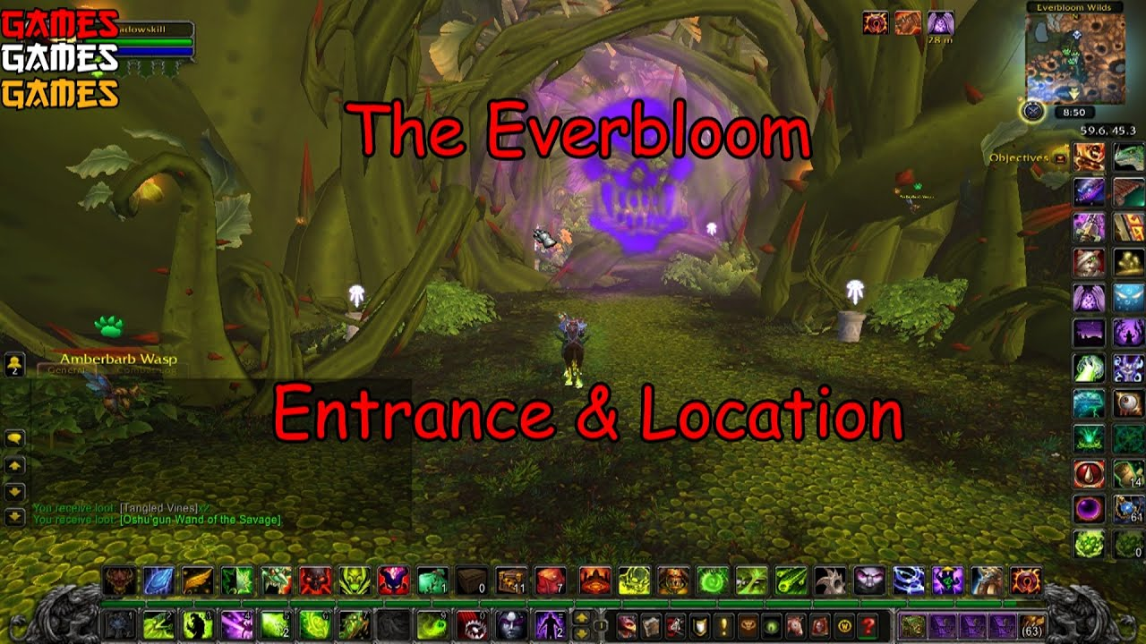 the everbloom dungeon entrance location youtube. Black Bedroom Furniture Sets. Home Design Ideas