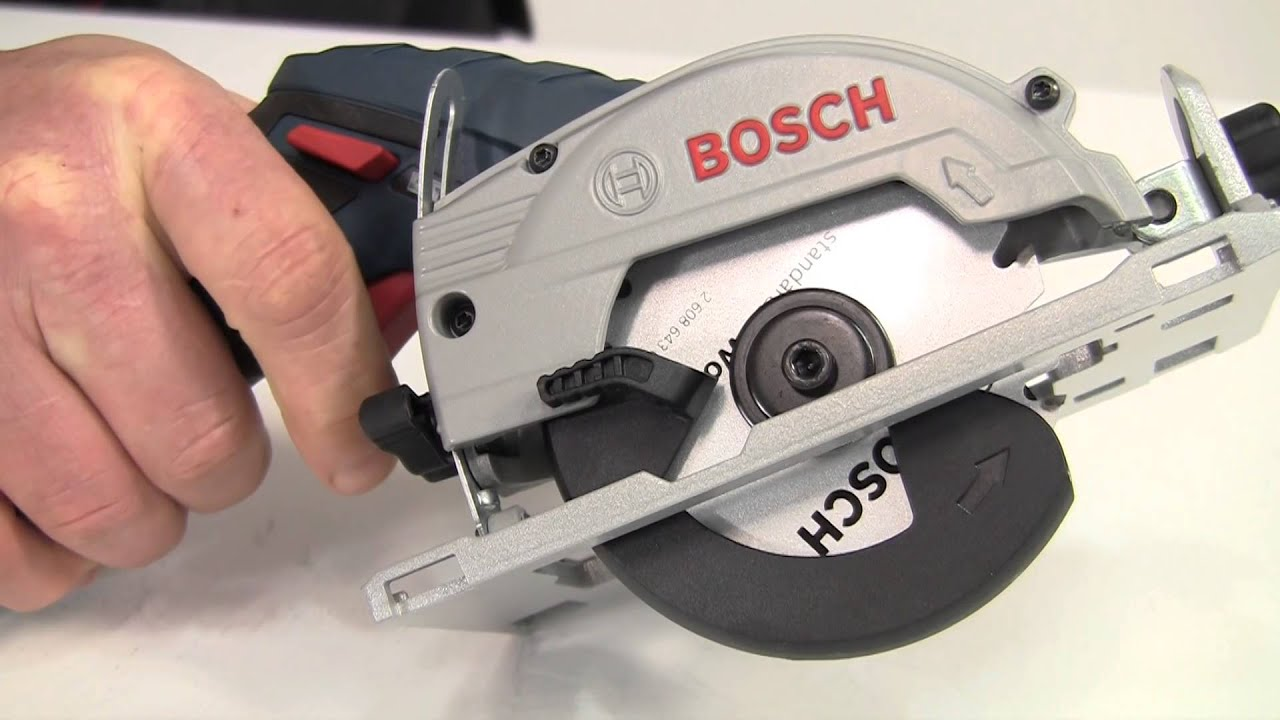 bosch gks 10 8 v li circular saw youtube. Black Bedroom Furniture Sets. Home Design Ideas