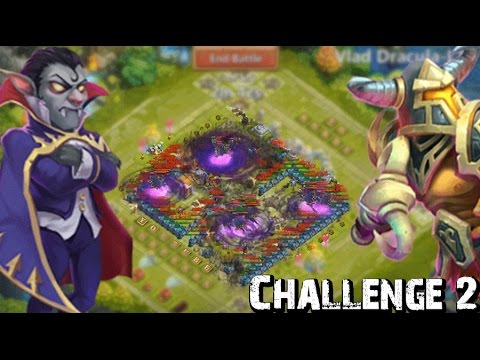 Castle Clash Hero Trials Challenge 2