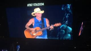 You and Tequila Make Me Crazy - Kenny Chesney, May, 16, 2015, AT&T Stadium, Arlington, TX.