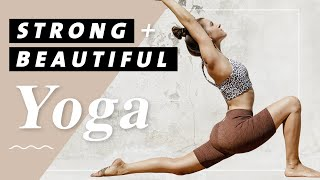 Yoga Ganzkörper Flow | 20 Min. Workout Mittelstufe | Fühl dich stark, fit & selbstbewusst!