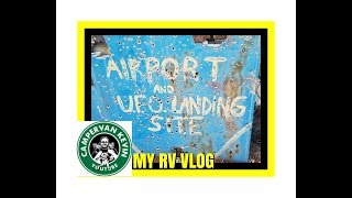 Free Camping Beside Airport and UFO Landing Site