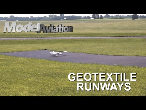 Geotextile Runways - Model Aviation