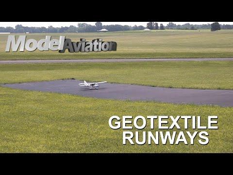 Geotextile Runways - Model Aviation