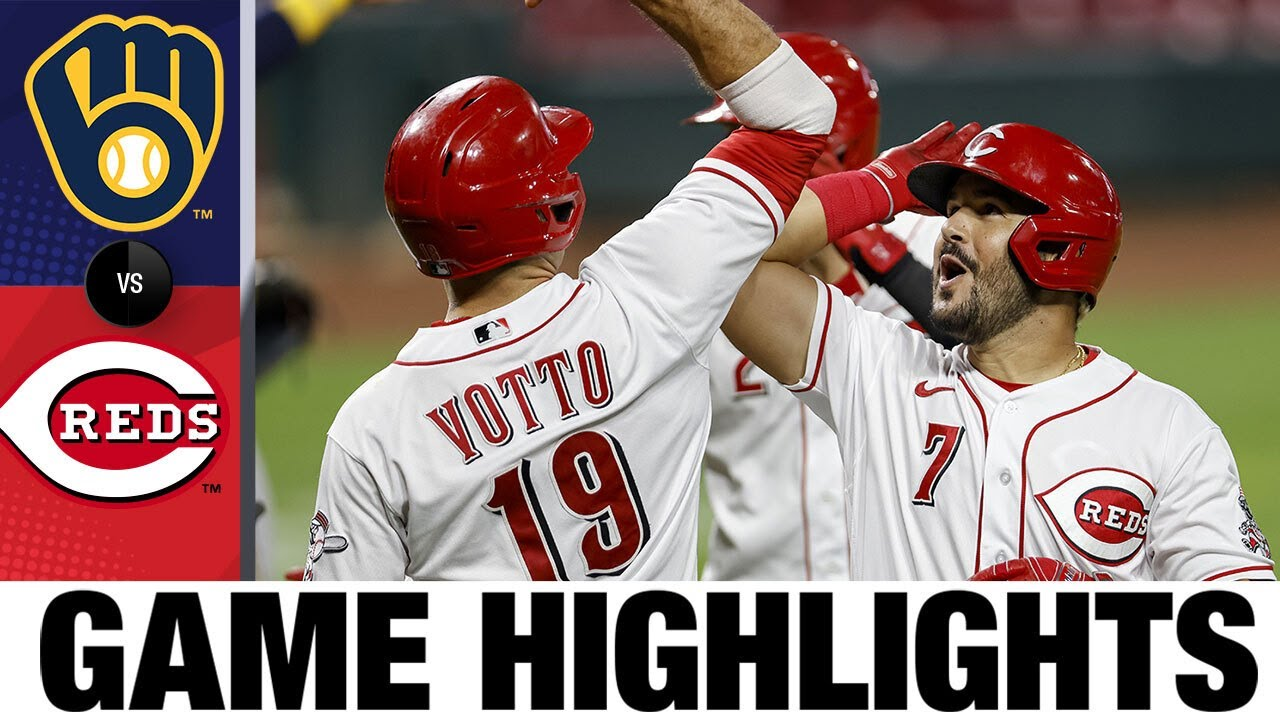 Trevor Bauer strikes out 12 in Reds' 6-1 win | Brewers-Reds Game Highlights 9/23/20