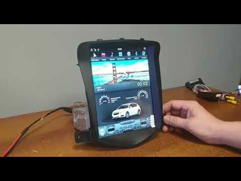 Штатная магнитола Chevrolet Cruze стиль Tesla