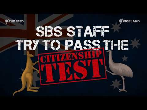 SBS Staff take the Citizenship Test - The Feed