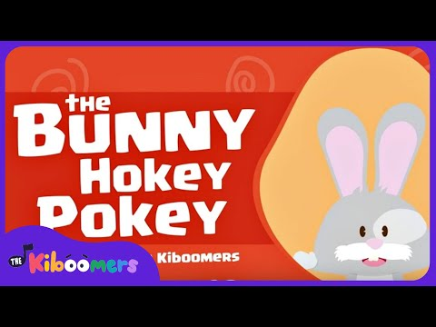 The Bunny Hokey Pokey | Easter Songs for Kids | The Kiboomers