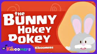 Bunny Hokey Song for Preschoolers | Hokey Pokey Dance for Kids | Easter Songs for Children