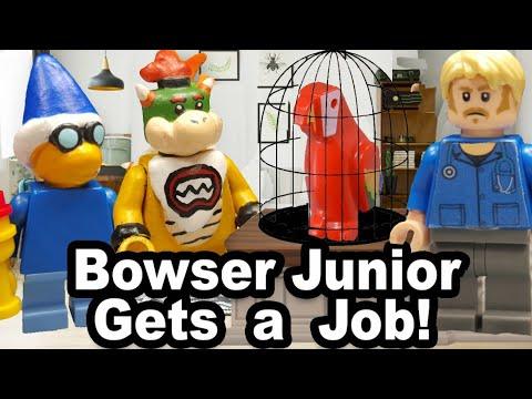 SML Lego: Bowser Junior Gets A Job!