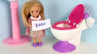 Маша Работает у Сабрины Дома Мультики для детей Куклы #Барби Новая серия для девочек IkuklaTV