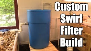 Custom Plastic Drum Swirl Filter