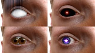 REAL LIFE Anime Eyes #9 (Jougan,Inuyasha,Elias,Squealer...)