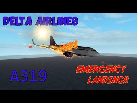 Roblox Flight | Delta Air Lines | Emergency Landing!