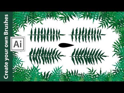 Make your own Branch Brushes in Adobe Illustrator thumbnail