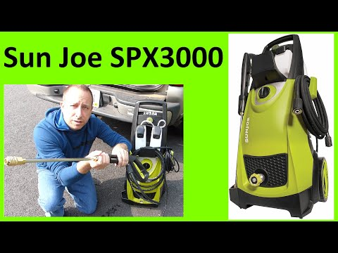 SunJoe SPX3000 Pressure Washer Overview, Assembly, and Quick Demo