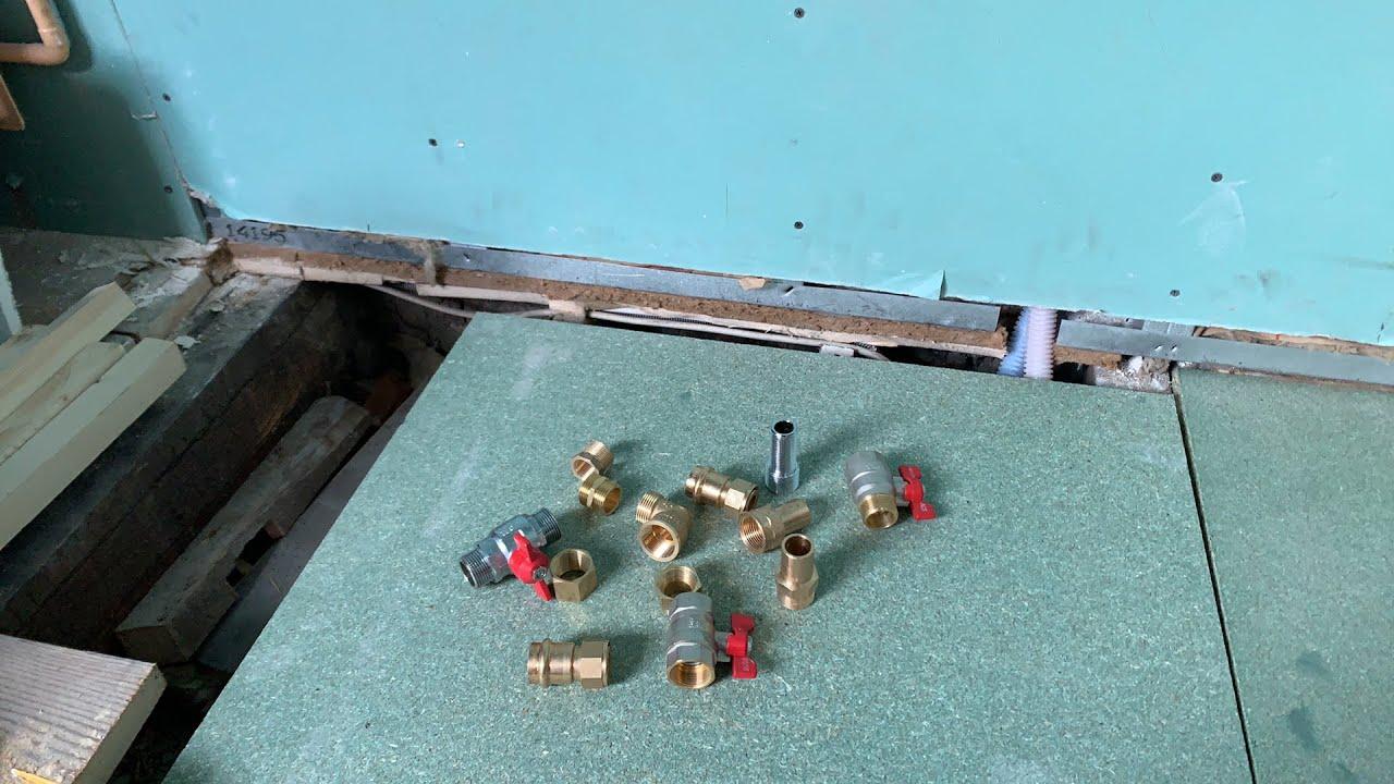Plomberie05 Joint De Filasse Sur Laiton Raccord Union By E