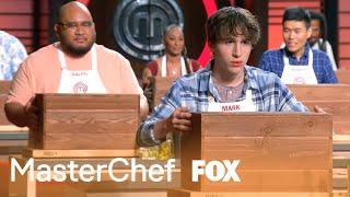 The Contestants Open Their Mystery Box   Season 9 Ep. 7   MASTERCHEF