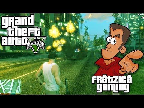 GTA 5 - Ep. 4 Scandal pe Șomcuta - Fratzica Gaming