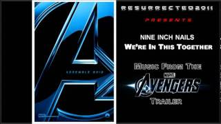 the avengers trailer song we re in this together by nine inch nails youtube flv