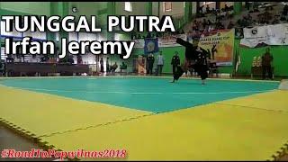 Tunggal Putra Pencak Silat DKI Jakarta Irfan Jeremy | Uji Coba (Try Out) - RoadToPOPWilNas2018
