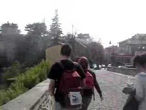 Mari e Laura em tour por Bergamo!