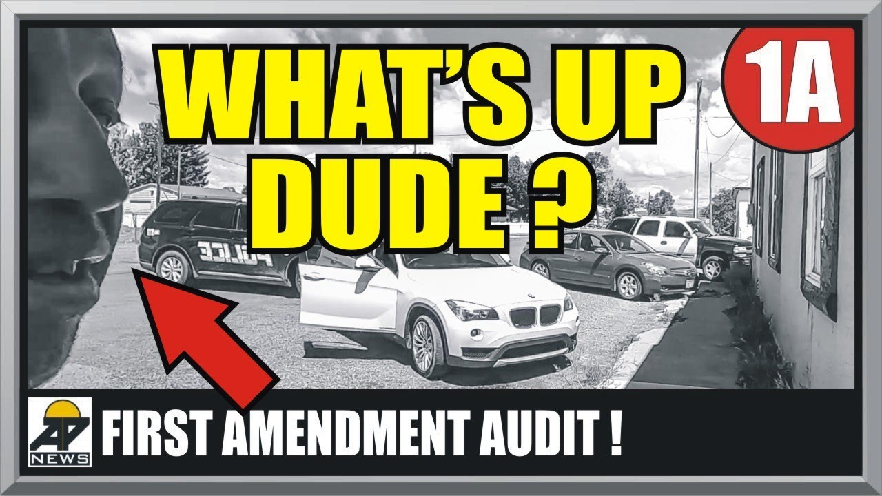 """INTIMIDATION FAIL """"WHAT'S UP DUDE ?"""" ANTONITO, CO POLICE - First Amendment Audit - Amagansett Press"""