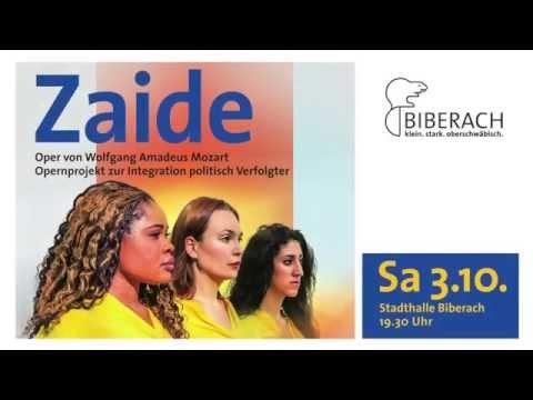 Zaide - Oper von W. A. Mozart - Trailer