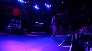 "J. Cole: ""Cole World Tour"" The Filmore"
