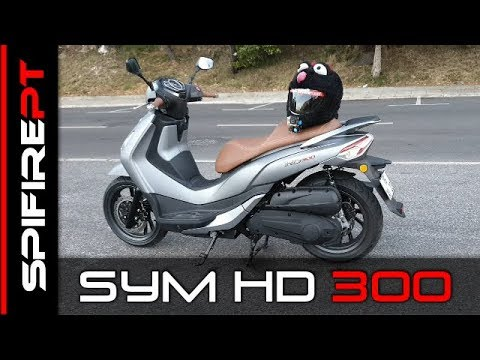 ★ new Model SYM HD300 ★ Review & TestRide ★ - ENGLISH 💯✅