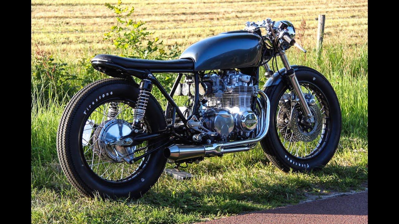 Honda CB550 77 Caferacer Bratstyle