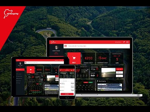 NÜRBURGRING Online portal for tourist rides on the Nordschleife and Grand-Prix track