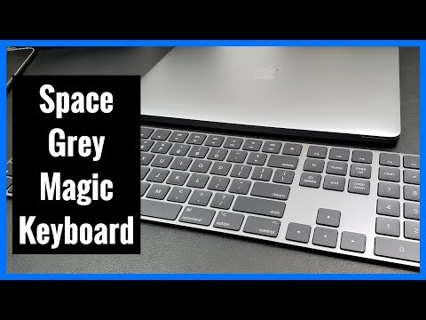 Space Grey Magic Keyboard with Numeric Keypad from Apple | Unboxing | Demo | Review