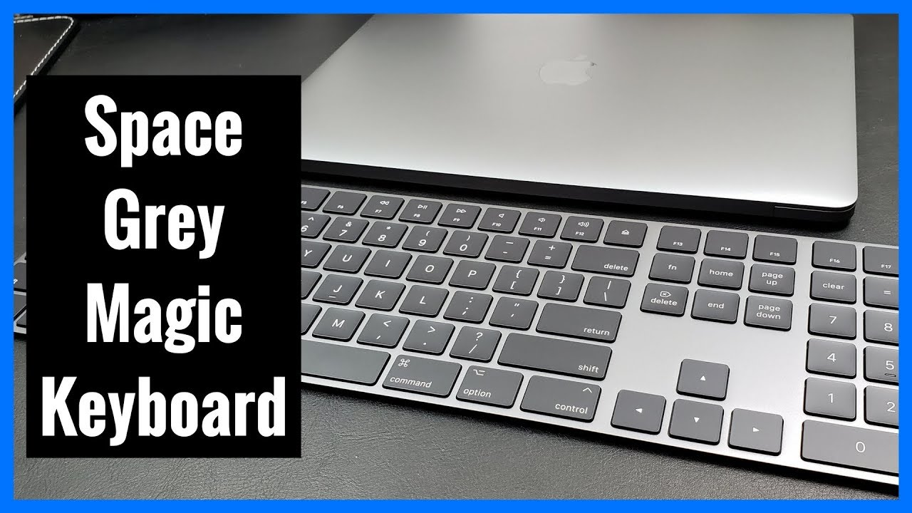 7e7df2c3c95 Space Grey Magic Keyboard with Numeric Keypad from Apple | Unboxing | Demo  | Review
