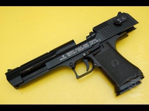 KWC Desert Eagle .50AE GBB Airsoft Pistol, Hardest Kick, Baddest Look!