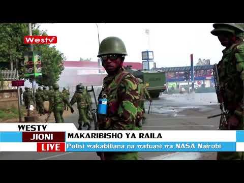 Watu idadi isiyojulikana wajuruhiwa katika makabiliano na polisi