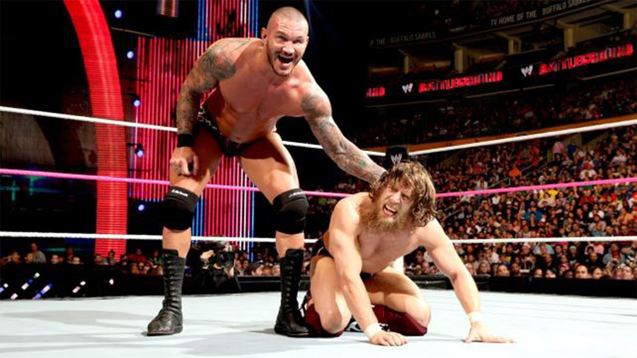 Image result for WWE Battleground 2013 Randy Orton vs Daniel Bryan