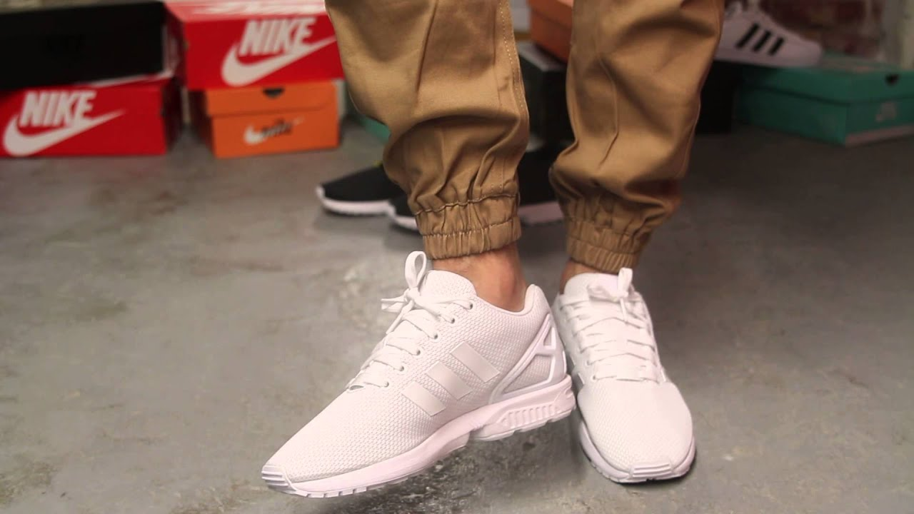 Adidas Zx Flux White Tumblr