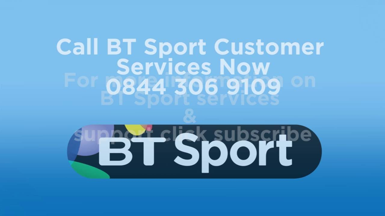 Bt Sport Customer Service Phone Number 0871 789 1864