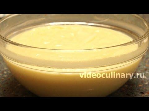 Заварной Крем  -  Классический Рецепт от Бабушки Эммы