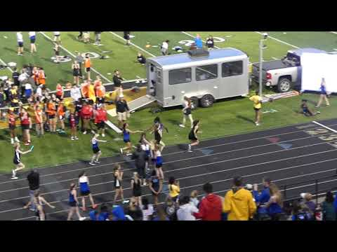Centerville Middle School Relays - Girls 4x4 Relay
