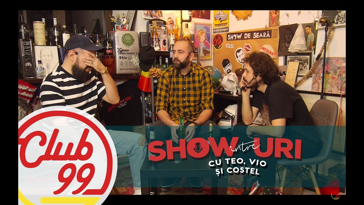 Podcast #302 | Din păcate, îmi pare rău | Între showuri cu Teo, Vio și Costel