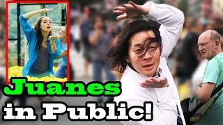 JUANES - 'Pa Dentro' - SINGING IN PUBLIC!!
